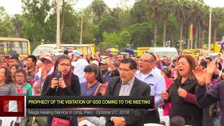The Dreadful Glory of the Lord points at His Two Most Dreadful Prophets in Lima, Peru