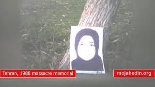 Tehran, memorial of 30,000 massacred in 1988