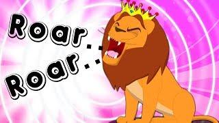 Roar Roar Lion   Nursery Rhyme Cartoons by Kids Tv