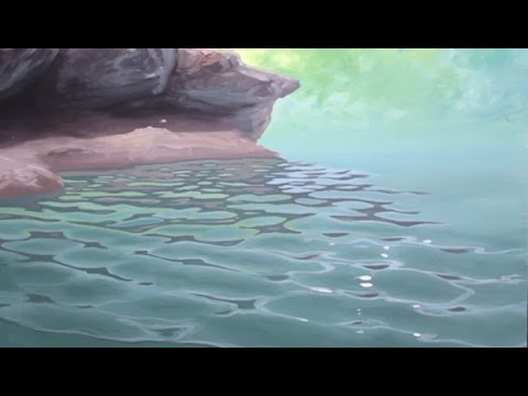 How To Paint Waves Lesson 4 Ripples