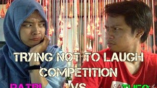 TRYING NOT TO LAUGH CHALLENGE! #1   THEO VS RATRI