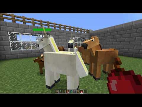 MINECRAFT [V1.2.5] Mo' Creatures Mod Showcase (Minecraft Zoo)
