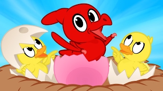 Dinosaur Duckling Morphle - The Ugly Duckling Fairy Tale Cartoon for Kids