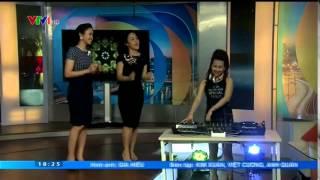 DJ Trang Moon quậy cùng 2 MC VTV 2015