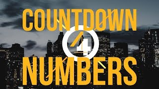 Countdown Numbers in After Effects - FREE DOWNLOAD - FREE Template