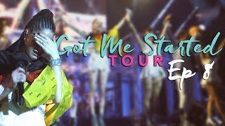 EP8: Me emocioné en el último show del GMS Tour 😭 #TiniYoutube   TINI