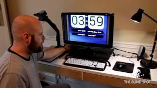My Computer/CCTV Setup - The Blind Life