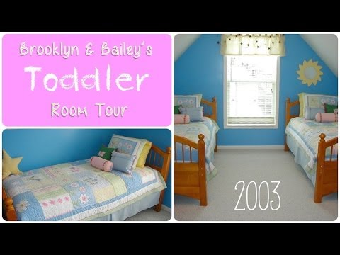Brooklyn & Bailey's Toddler Girl Room Tour {2003}