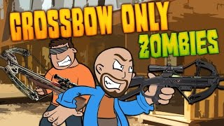 CROSSBOWS ONLY ZOMBIE CHALLENGE ★ Call of Duty Zombies Mod
