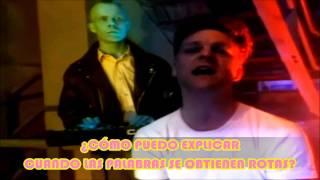 ERASURE - CHAINS OF LOVE / videoclip (remasterizado) subtitulado en español-curl games