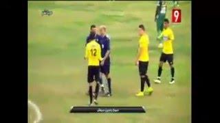 ياسين حروش حكم مباراة في الدوري التونسي يبكي بسبب شتائم وسباب وهتافات الجماهير ضد والدته