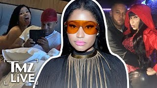 Nicki Minaj Ignores Haters, Defends Criminal Boyfriend | TMZ Live