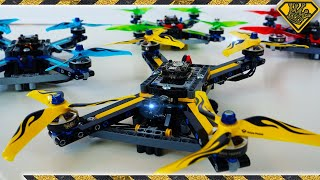 Worlds First LEGO Race Drones!!