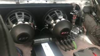 Two Alphard Deaf Bonce Apocalypse DB-SA 521 Neo (21-inch subwoofers)