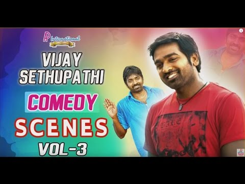 Vijay Sethupathi Comedy Scenes | Vol - 3 | Latest Tamil Movie Comedy | Nayanthara | Soori