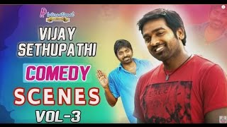 Vijay Sethupathi Comedy Scenes | Vol - 3 | Latest Tamil Movie Comedy | Nayanthara | Soori
