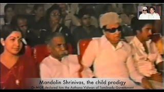 MGR, Jayalalitha, Kamal Hassan at Mandolin Srinivas award Event