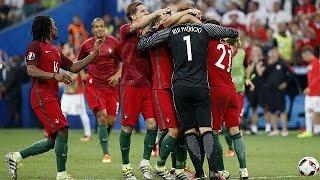 Portugal feiert Einzug ins Fußball-EM-Halbfinale