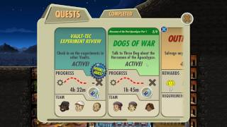 Fallout Shelter Horsemen of the Post-Apocalypse Part 1 Dogs of War