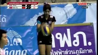 [Full Match] Thai - Taiwan Semi Final [Volleyball Asian Jr. Women's 16th] 8-10-2012