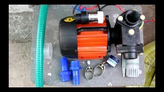 Installing a pump for my terrace garden.(kirloskar jalraj 0.5hp pump)