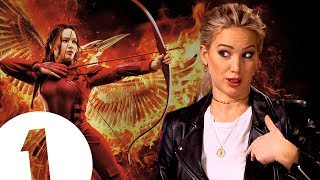 """""""Did you guys know I was in the Hunger Games?"""" Jennifer Lawrence on where she keeps Katniss"""