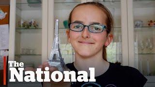 Ottawa girl facing vision loss makes dream Paris trip