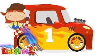 Doc McWheelie RACING CAR Drag Racer! (Children's Car Cartoons)