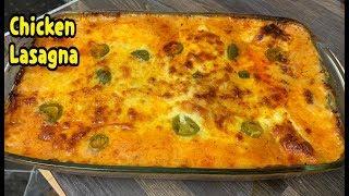 How To Make Chicken Lasagna /Chicken Lasagna Recipe By Yasmin's Cooking