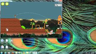 Angry Bird Rio Running on Pc with Serial key and  Download link.mp4
