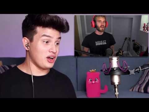 Vocal Coach Reaction to Pewdiepie Singing Despacito (Meme Review)