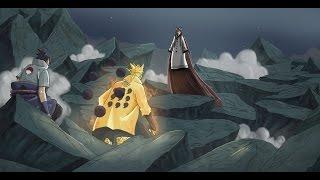 [FULL FIGHT] Naruto, Sasuke, Kakashi Team 7 Vs Kaguya Otsutsuki (Indo Sub) - Naruto Shippuden FINAL
