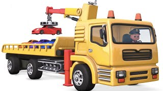 Car loader Truck   Police chase car toy thief video   Car videos for kids surprise eggs - jugnu kids