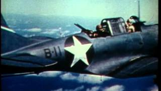 The Battle of Midway   1942 Authentic 16mm Colour Film