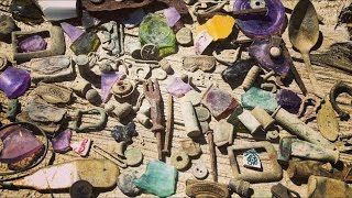 You won't believe what these treasure hunters found in the middle of nowhere!