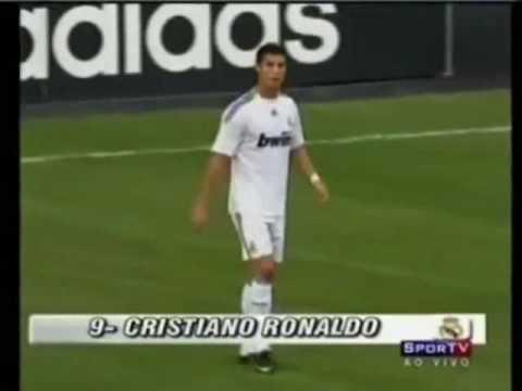 Goles de Cristiano Ronaldo con el Real Madrid