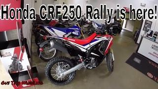 2017 Honda CRF250 Rally is here!