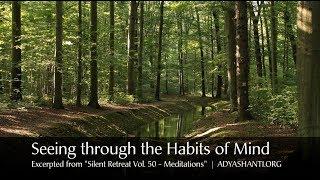 Adyashanti Guided Meditation - Seeing through the Habits of Mind