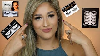 FALSE LASHES HAUL | TRY-ON & REVIEW