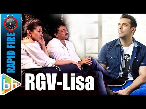 Xxx Mp4 Ram Gopal Varma Lisa Ray S BLOCKBUSTER Rapid Fire On SRK Salman Aamir KRK Sunny 3gp Sex