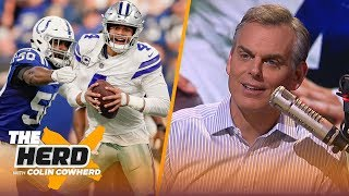 Colin Cowherd says the Rams lack depth, talks Colts shoutout of the Cowboys | NFL | THE HERD