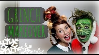 THE GRINCH MAKEOVER WITH ZOELLA | ThatcherJoe