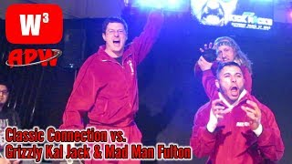 The Classic Connection vs. Kal Jack & Mad Man Fulton at APW! | Wrestling With Wregret
