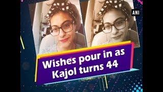 Wishes pour in as Kajol turns 44 - #Bollywood News
