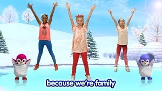 Sing The Penguin Family Song With the Kids's Action - Badanamu: Learning Library for Children