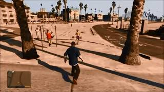 【GTA5】グラセフ5 爆笑!おもしろハプニング映像がヤバイwww!