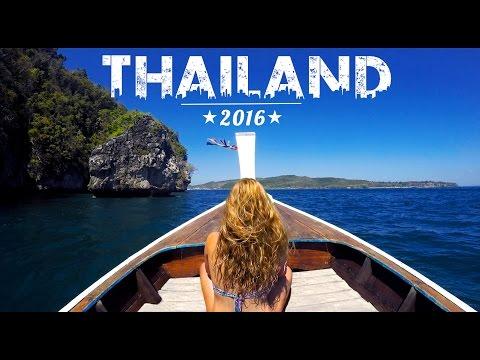 GoPro HERO 4 AMAZING THAILAND TRIP Travel 2016
