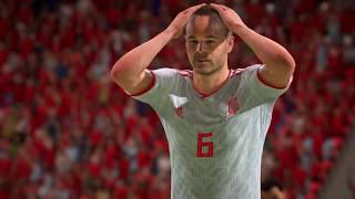 IR Iran VS Spain WORLD CUP 2018               Ps4 Broadcast (FIFA 18)