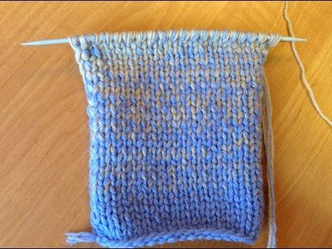 Как сделать градиент при вязании