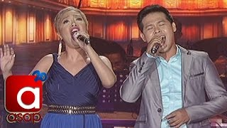 """ASAP: Kakai Bautista sings """"And I Am Telling You"""" with Marcelito Pomoy"""
